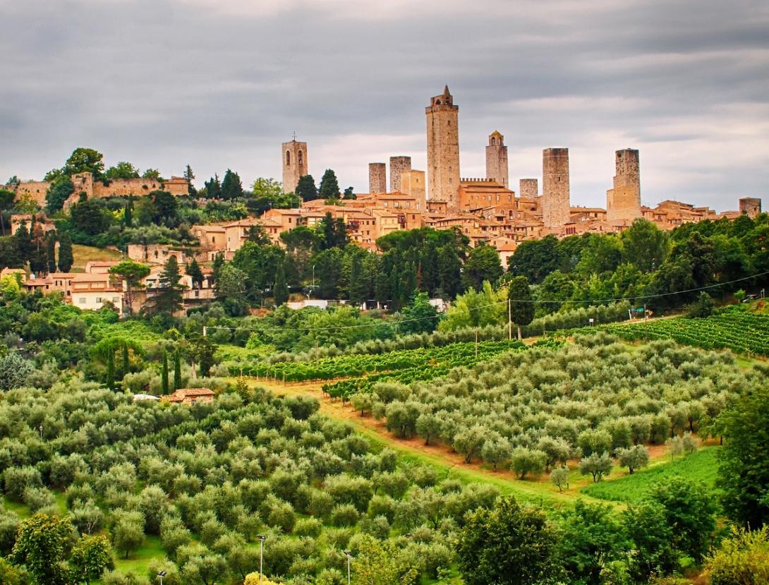 San Gimignano, mesto kamenných veží